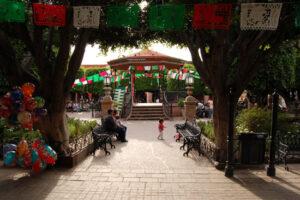 San Miguel jardin