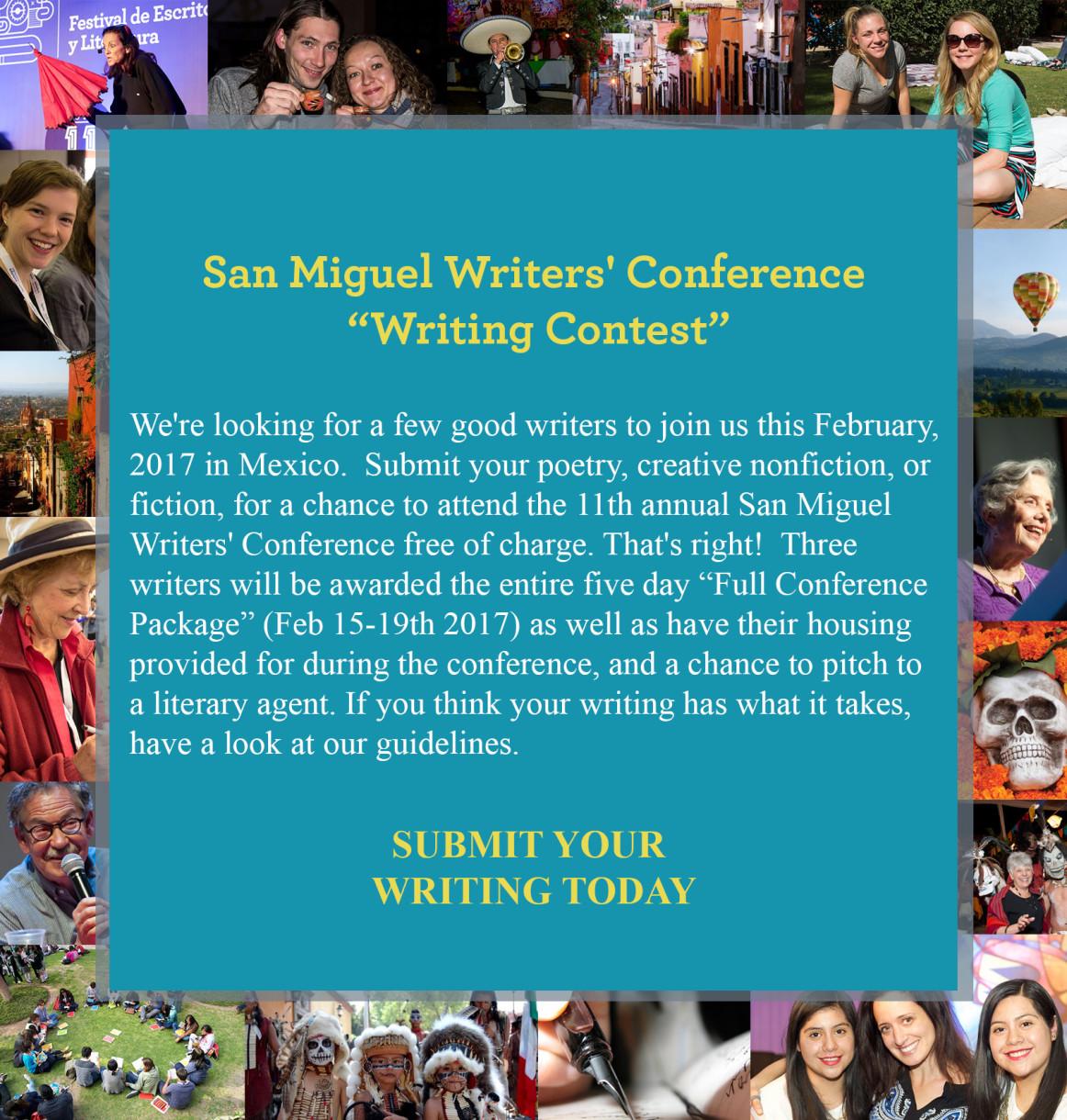 SMWC Writing Contest promo