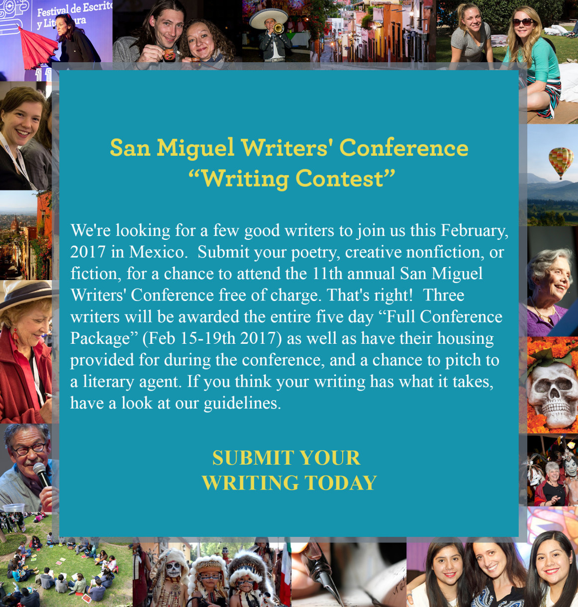 SMWC Writing Contest promo