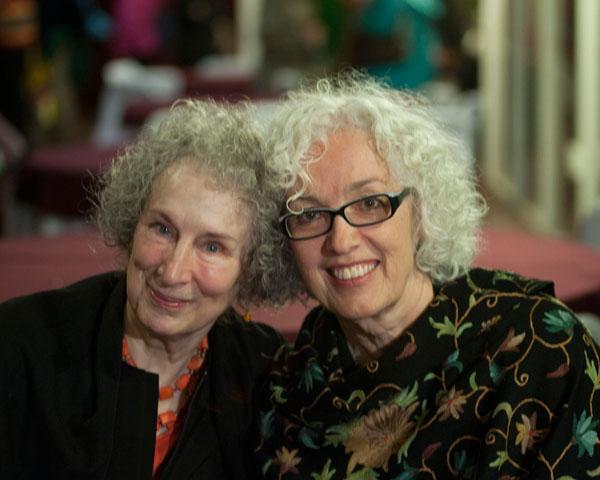 Maragret Atwood & Merilyn Simonds