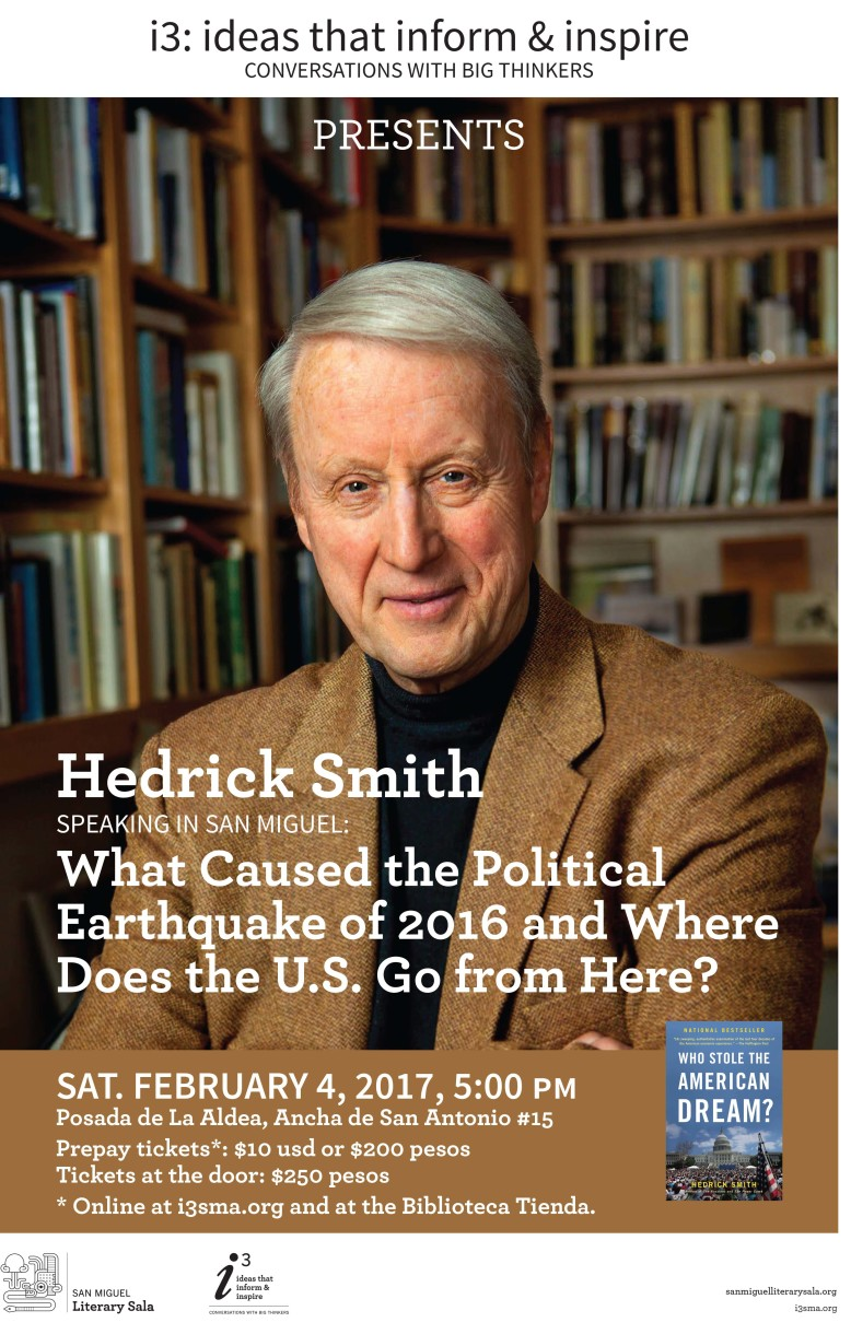 i3 presents: Hedrick Smith