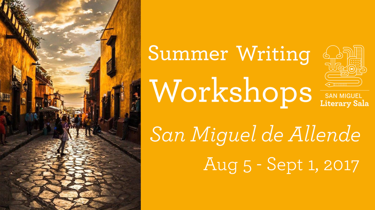 Summer Writing Workshops 2017