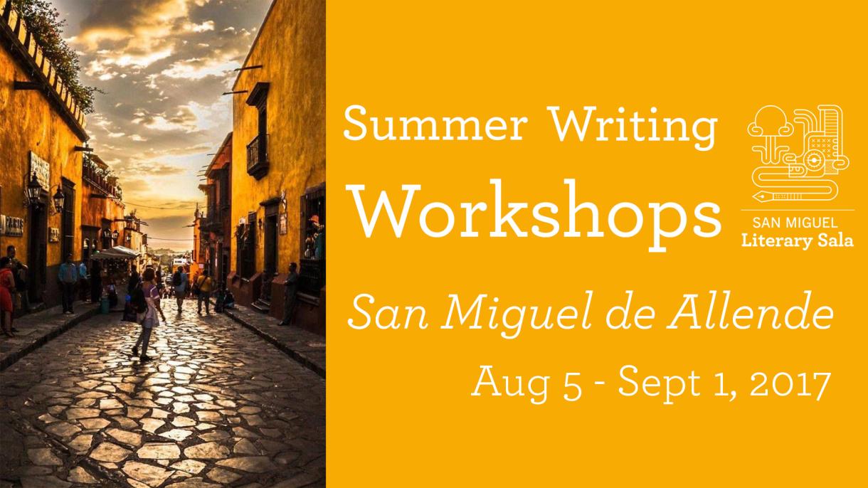 Summer Writing Workshops 2017